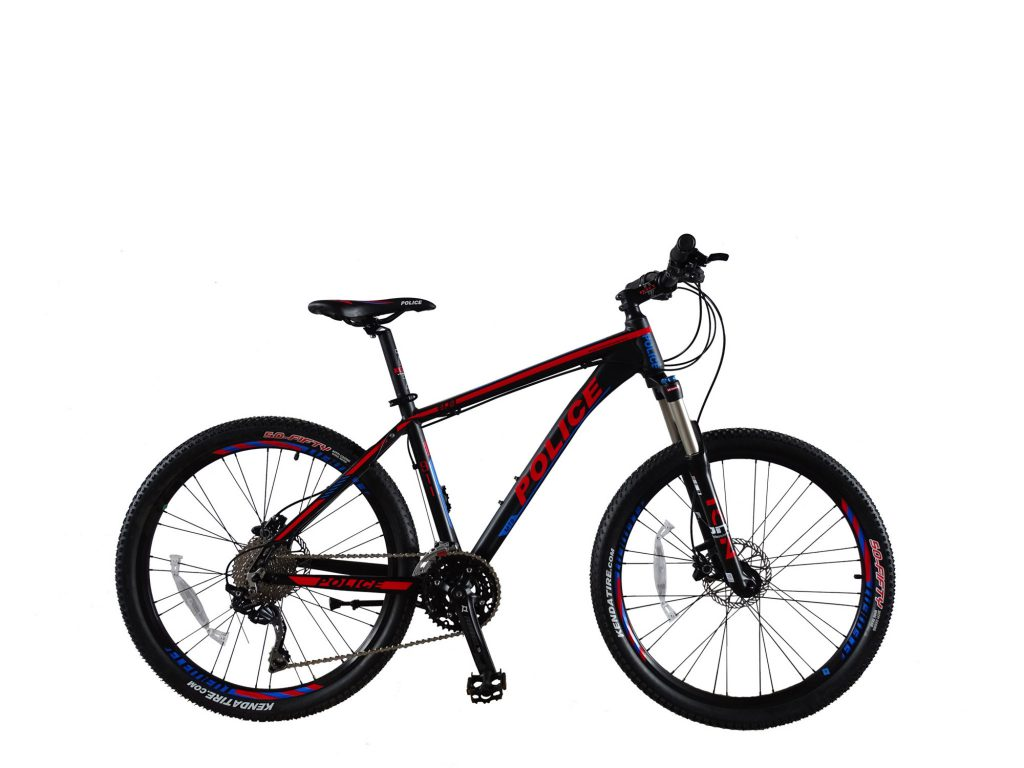 Vancouver 4.0 Black Red Blue - Sepeda Element - Element Bike